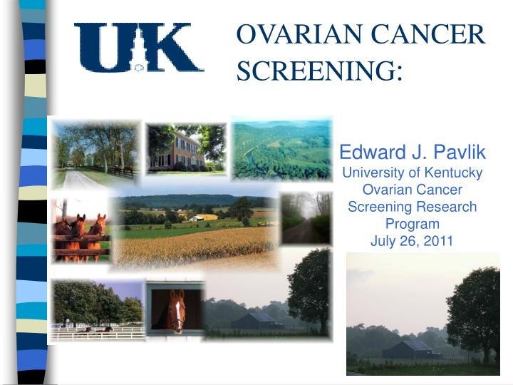 ovarian cancer screening n.