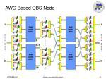 awg based obs node