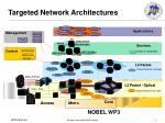 targeted network architectures