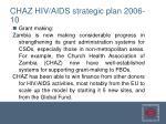 chaz hiv aids strategic plan 2006 103