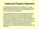 intellectual property statement