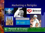marketing e religi o