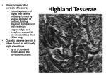 highland tesserae