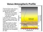 venus atmospheric profile