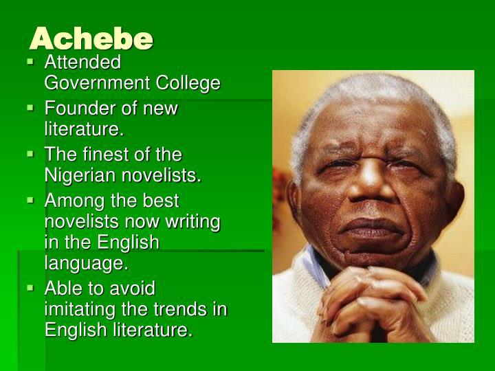 Achebe