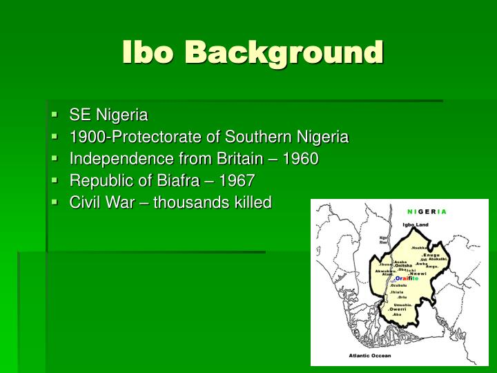 Ibo Background