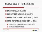 house bill 2 krs 160 325