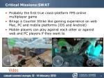 critical missions swat1
