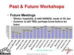 past future workshops
