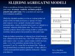 slijedni agregatni modeli