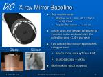 x ray mirror baseline