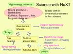science with next