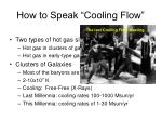 how to speak cooling flow