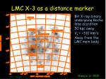 lmc x 3 as a distance marker