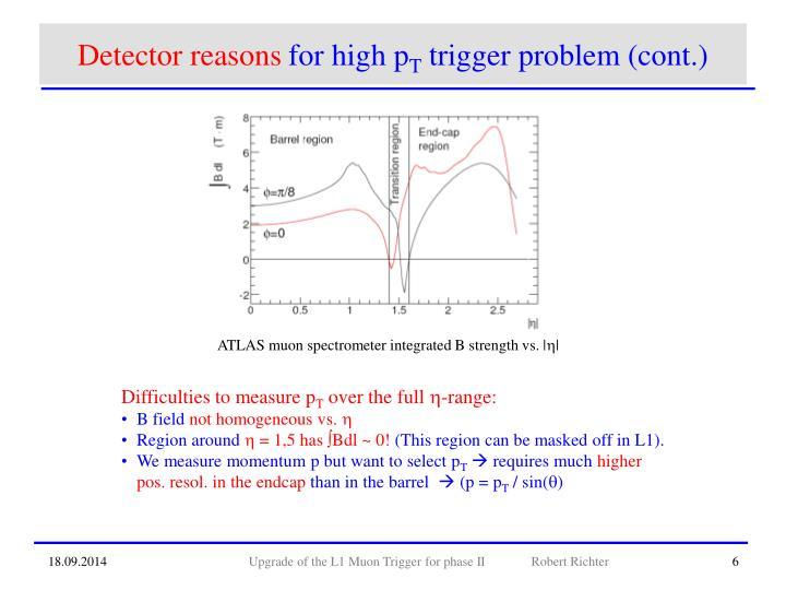 Detector reasons