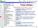 triage clinique