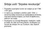srbija uo i srpske revolucije