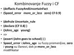 kombinovanje fuzzy i cf