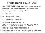 prosto pravilo fuzzy fuzzy