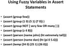 using fuzzy variables in assert statements1