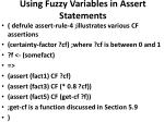 using fuzzy variables in assert statements5