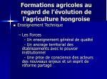 formations agricoles au regard de l volution de l agriculture hongroise1