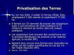 privatisation des terres1