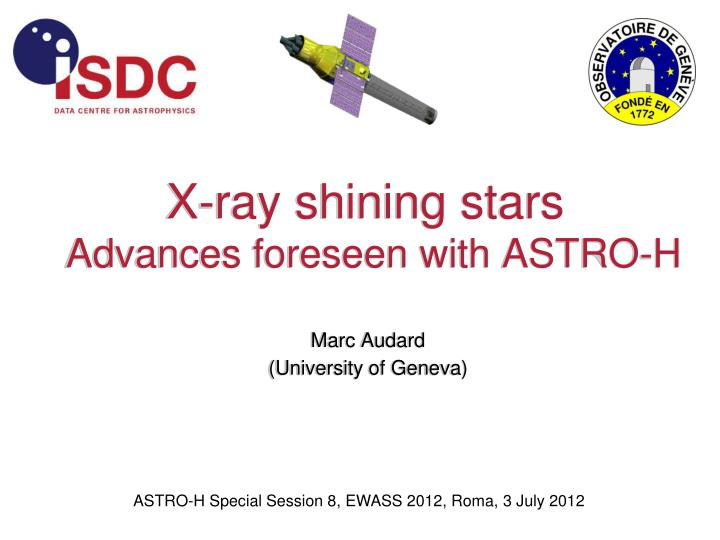 x ray shining stars advances foreseen with astro h n.
