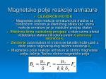magnetsko polje reakcije armature