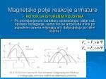 magnetsko polje reakcije armature3