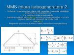 mms rotora turbogeneratora 2
