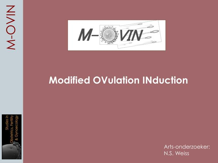 modified ovulation induction n.