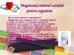 magneziul mineral esen ial pentru organism