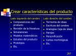 crear caracter sticas del producto1