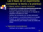 las 6 fases de un experimento considerar la teor a y la pr ctica3