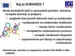 kaj je euraxess