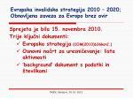 evropska invalidska strategija 2010 2020 obnovljena zaveza za evropo brez ovir