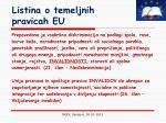 listina o temeljnih pravicah eu