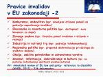 pravice invalidov v eu zakonodaji 2