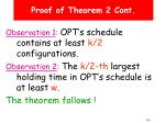proof of theorem 2 cont