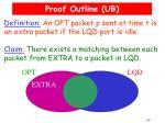 proof outline ub