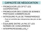capacit de n gociation