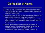 definici n of asma