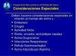 programa de seis puntos en el manejo del asma consideraciones especiales