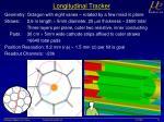 longitudinal tracker