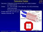 transverse tracker
