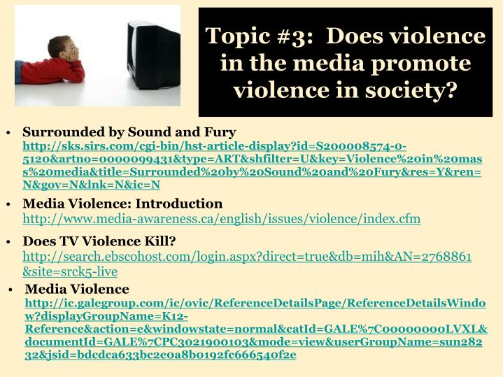 formal outline violence in media Example of sentence outline several aspects must be considered in writing a sentence outline if you have chosen to write a sentence outline, all headings and sub-headings must be in sentence form.