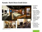 kanada north shore credit union