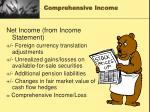 comprehensive income1