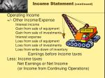 income statement continued2